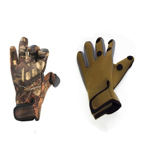 Рыболовные перчатки Сезоны Рыболовные рукавицы Носить устойчивые рыболовные перчатки Охота Велоспорт Рабочие перчатки фото