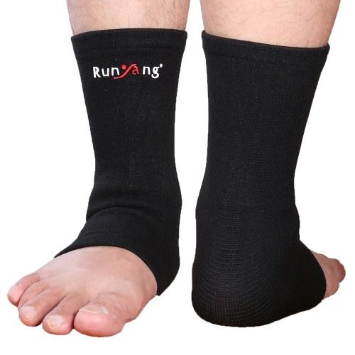 1 PCS de punto de tobillo de manga Compresión Wrap Support Tobillera Protector para la recuperación de lesiones deportivas Alivio del dolor