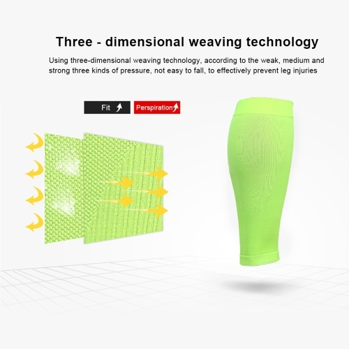 Sports Calf Sleeves Compression Leg Guard Running Football Calf Shin Support Calf Muscle Relieve Wrap