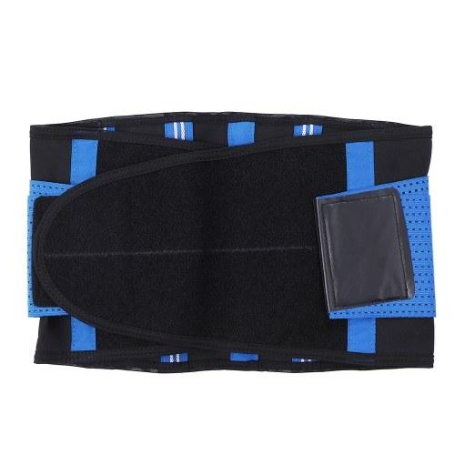 Entrenamiento de la aptitud Cintura de soporte Cinturón Ajustable Abdomen Trimmer Deportes Soporte de la cintura Cintura Running Yoga Cintura Correa de Compresión