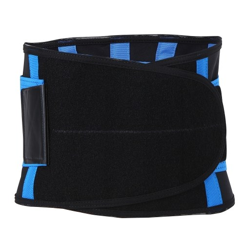 Fitness Workout Waist Support Belt Adjustable Belly Abdomen Trimmer Sports Waist Brace Support Running Yoga Waist Compression Strap