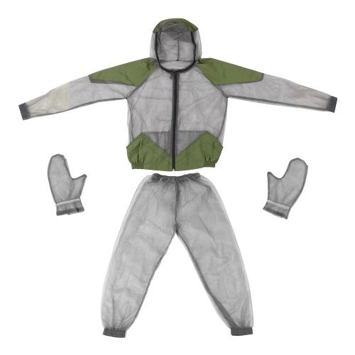 Открытый москитная репеллент Bug Jacket Mesh с капюшоном костюмы фото