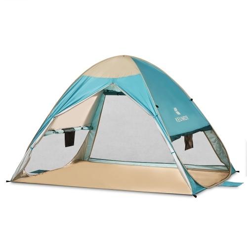 Image of Automatische Instant Pop Up Strand Zelt Leichte Outdoor UV Schutz Camping Angeln Zelt Cabana Sun Shelter