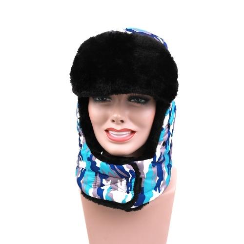 O inverno dos adultos mantém o chapéu morno com a válvula de respiração