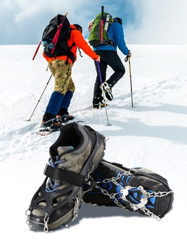 Lixada Traction Cleats Spikes Crampons Ice Snow Grips фото