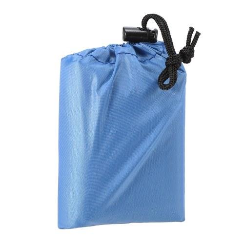 Waterproof Pocket Beach Blanket Lightweight Compact Outdoor Picnic Mat фото