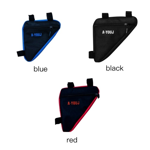 Bicycle Front Saddle Tube Frame Pouch Holder Bag фото