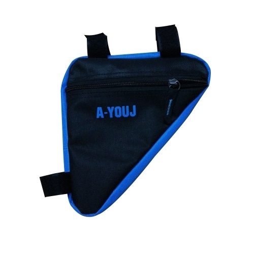 Bicycle Front Saddle Tube Frame Pouch Holder Bag Image
