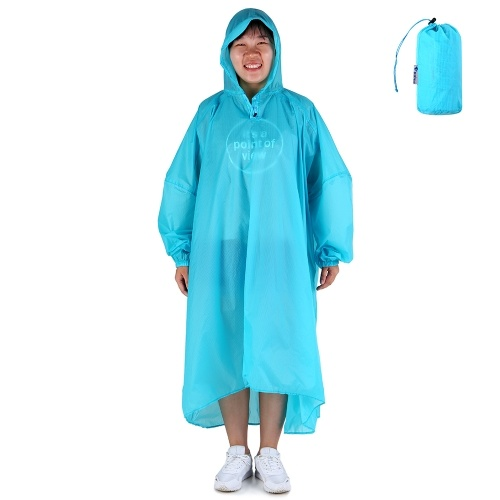 Coated Nylon Raincoat Soft Rain Coat