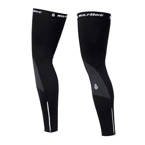 Windproof Warm Cycling Cap and Leg Warmers Set фото