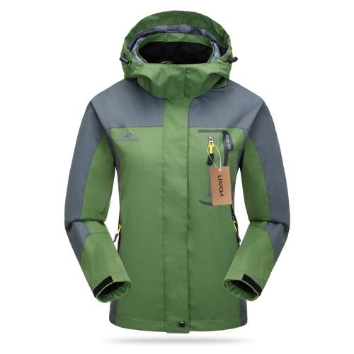 Lixada Waterproof Jacket Windproof Raincoat Tear Resistant Sportswear фото