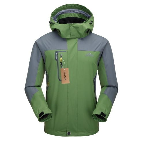 Lixada Waterproof Jacket Windproof Raincoat Sportswear