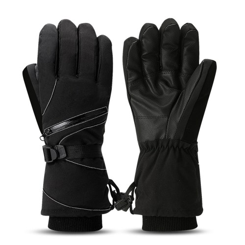Thermal Winter Gloves Long Cuff Cycling Gloves