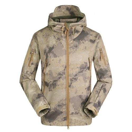 Mens Outdoor Hooded Windproof Jacket