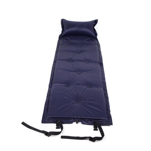 Almofada de ar portátil inflável da esteira do saco de sono única