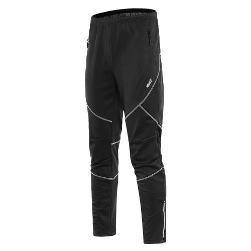 Мужские водонепроницаемые ветрозащитные зимние велосипедные штаны фото