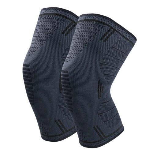 Joelheiras protetoras anti-derrapantes joelheiras de compressão de suporte de joelho Proteção articular para esportes