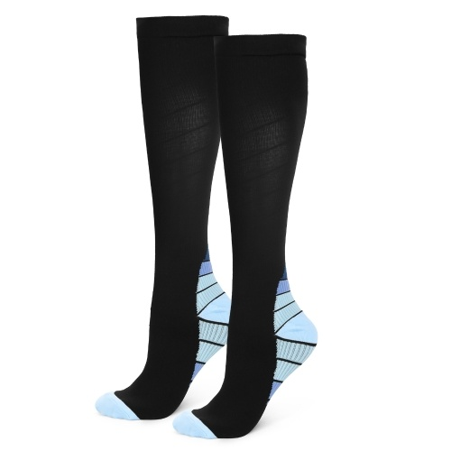 Outdoor Sports Running Long Stockings Leg Compression Stretch Stockings Athletic Football Soccer Socks