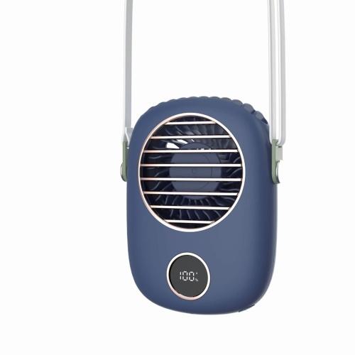 Подвесы для шеи Маленький вентилятор USB Перезаряжаемый мини-вентилятор Открытый ручной вентилятор Настольный вентилятор Портативный поясной вентилятор Портативный Ventilador