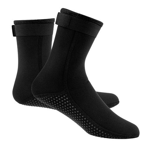 Неопреновые носки для гидрокостюмов 3 мм Теплые носки для подводного плавания с аквалангом Зимние носки для серфинга Тепловые нескользящие ботинки для подводной охоты Плавание Рафтинг Снорклинг Парусный спорт