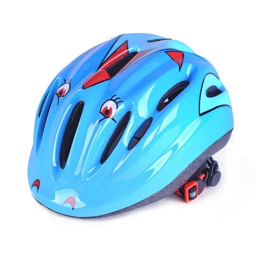 Adjustable Children Riding Helmet Kids Bike Road Bicycle Skateboarding Roller Skating Helmets Lightweight Breathable Protective Cap Image