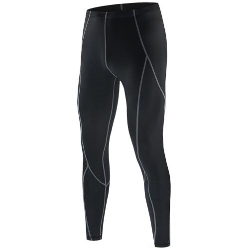 Männer Kompressionshose Sport Baselayer Workout Aktive Strumpfhose Leggings Yoga Laufen Radfahren Fitnesshose