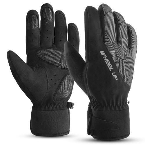Gants d'hiver gants coupe-vent imperméables gants de snowboard chauds gants de ski gants de vélo pour adulte