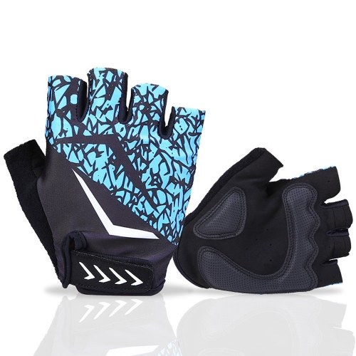 Cycling Gloves Half Finger Biking Gloves Anti-slip Breathable Mountain Bike Gloves for Men Women