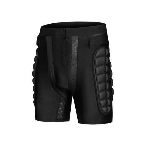 Light Solid Skateboard Snowboard SKi Shorts Padded Pants Protection Gear