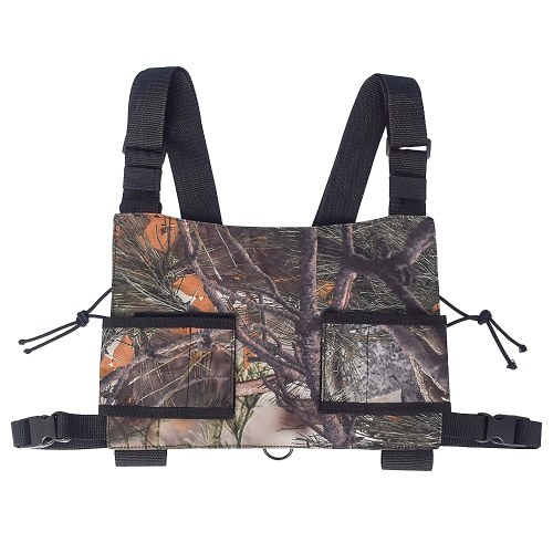 Outdoor Jagd Radio Harness Chest Rig Front Pack