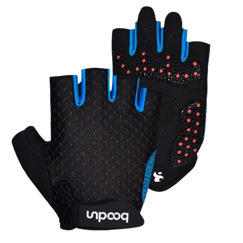 Cycling Gloves Unisex Half Finger Riding Gloves Image