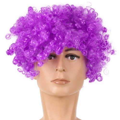 Soccer Fans Wig Explosion Curly Hairpiece фото