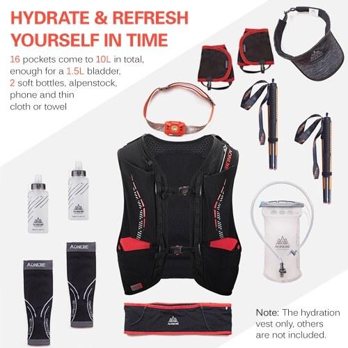 10L Outdoor Mesh Hydration Vest Bag
