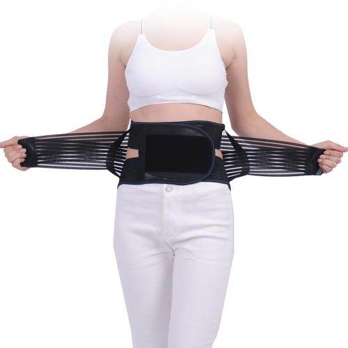 Сжатие нижней части спины Брейс Облегчение боли поясничного пояса поддержки