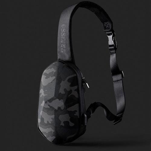 Xiaomi BEABORN Polyhedron PU Backpack USB Bag