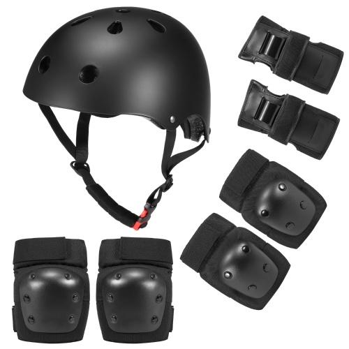 7 in 1 Kids/Adults Bike Helmet and Pads Set Image