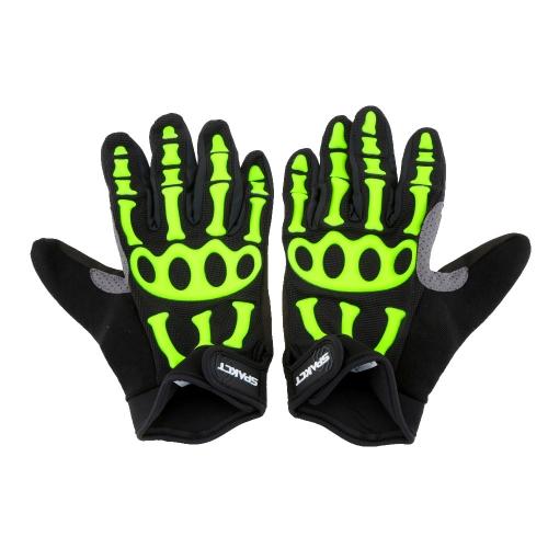 Spakct Men's Non-slip Full Finger Cycling Gloves Breathable Shockproof