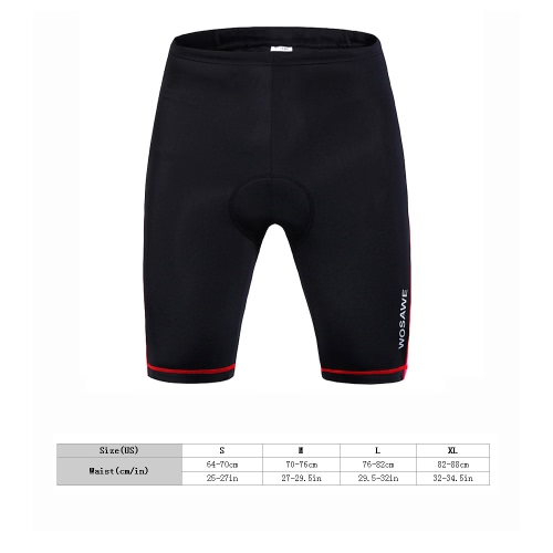 Women Outdoor Breathable 3D Silica Gel Padded Bicycle Shorts Cycling Pants