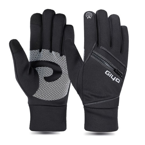 Winter Cycling Gloves Women Men Touchscreen Warm Gloves for Motorcycling Snowboarding Skiing Outdoor Sports Image
