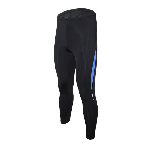 ARSUXEO Stretch Breathable Quick-Drying Compression Tights Men's Cycling Running Tights Ankle-length Pants