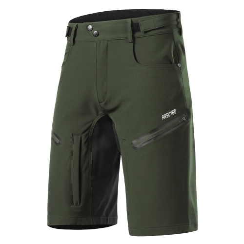 Men Loose Fit Cycling Shorts Breathable Quick Drying Outdoor Sports Running Bike Riding Casual Baggy Shorts Image