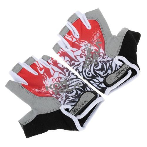 Sport halbe Fingerhandschuhe Rennen Reiten oder Fahren Rennrad Motorradfahren Fahrrad-Handschuhe