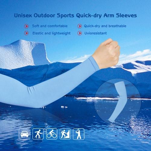 ユニセックスアウトドアスポーツ速乾通気性のアームスリーブ日耐性自転車サイクリング&ランニング用アーム保護スリーブ