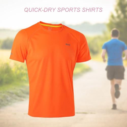 Quick-dry corsa Sport Ciclismo T-shirt Camicie Estate