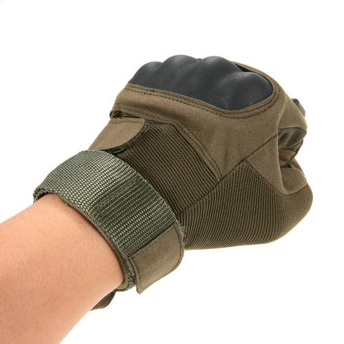 Guanti tattici a dito pieno di Knuckle duro Sport Shooting Ciclismo Equitazione