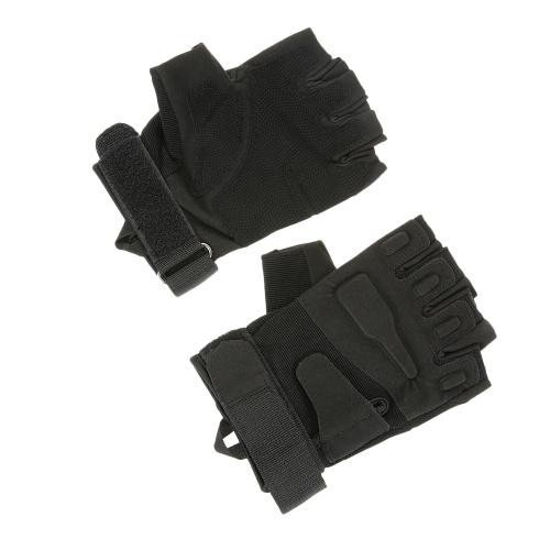 Harte Knuckle taktische Handschuhe Half Finger Sport-Schießen-Jagd Reitmotorrad