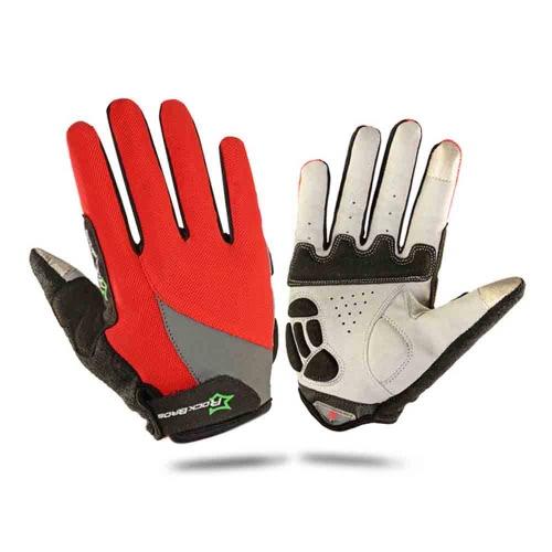 ROCKBROS Unisex traspirante Guanti completa Finger Gloves guanti termici Touch Screen Gloves motociclismo sci escursionismo Outdoor corsa equitazione