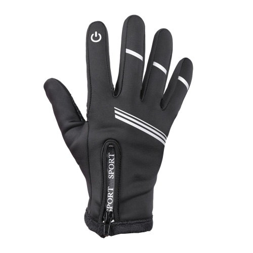 Winter Cycling Gloves Full Finger Touchscreen Anti-slip Bicycle Warm Gloves