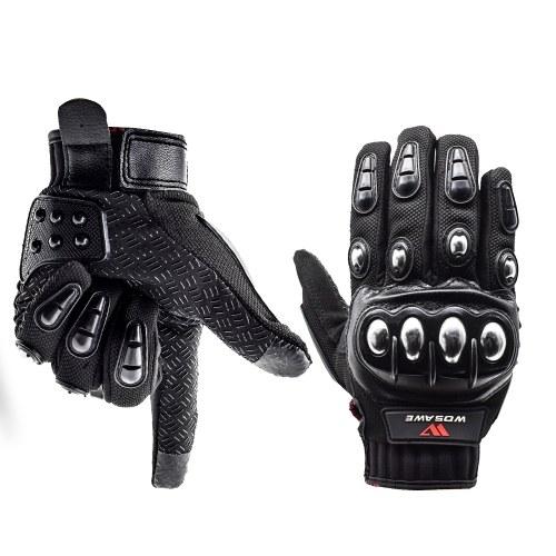 Touchscreen Hard Knuckle Gloves Full Finger
