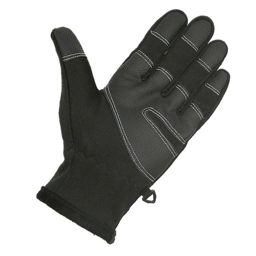 Waterproof and Windproof Touched Screen Zipper Gloves
